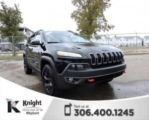 2016 Jeep Cherokee Trailhawk Heated/Cooled Leather Remote Start