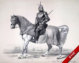 SIKH COMMANDER RAJA LAL SINGH ON HORSE ANGLO SIKH WAR PAINTING CANVASART PRINT