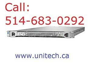 New - HP Gen 9 Rackmount Server 1U, 32GB ECC, 2 x 480GB SSD