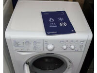 White Freestanding Washer Dryer Indesit