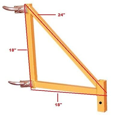 4 Scaffold Rollingt Tower Outriggers For Safety Support Aka Perry Baker Scaffold