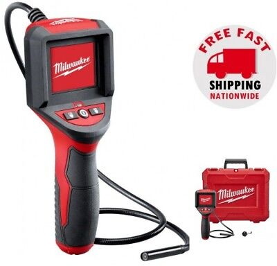 Milwaukee M-spector Inspection Lcd Color Camera Scope Tool Plumbing Diagnostic