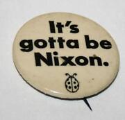 Nixon Campaign Button