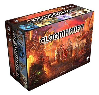 GLOOMHAVEN 2nd Edition Board Game - *PREORDER*  Guaranteed Stock! Shipping soon!