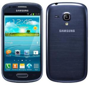 SAMSUNG GALAXY S3 MINI GT-I8190 UNLOCKED/DEBLOQUE ANDROID FIDO ROGERS TELUS BELL KOODO VIDEOTRON CHATR AFRIQUE EUROP