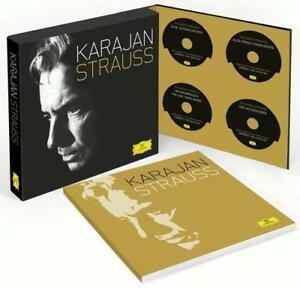 Karajan/Strauss (11 CD+Bluray Audio) von WP,Herbert von Karajan,BP (2014)NEU!!!