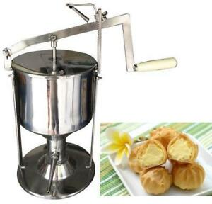 4L Manual Donut Filler Jelly Filling Cream Filled Machine Kitchen Tool Cooking - BRAND NEW - FREE SHIPPING