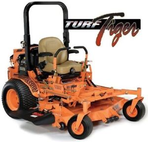 "SCAG Turf Tiger 61"" & 72"" Zero Turn - Diesel"