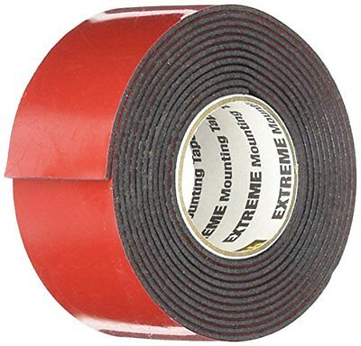 Scotch Extreme Mounting Tape 1 By 60-inch Black