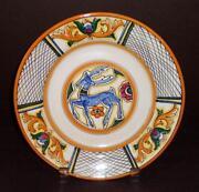 Antique Italian Plate