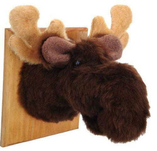 Stuffed Moose Head