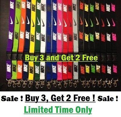 Nike Lanyard  Id Holder  Keychain   Buy 3   Get 2 Lanyards Free