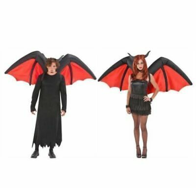 Airblown Inflatable Devil Adult Wings Halloween Costume Party  (Devil Wings Halloween Costume)