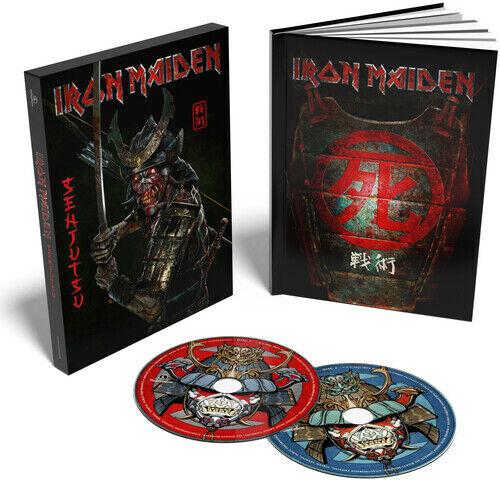 Iron Maiden *** Senjutsu (2 CD Deluxe Mediabook – Limited) **BRAND NEW 2 CD SET