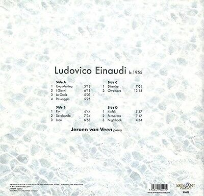 JEROEN VAN VEEN - PIANO MUSIC 2 VINYL LP NEU EINAUDI,LUDOVICO