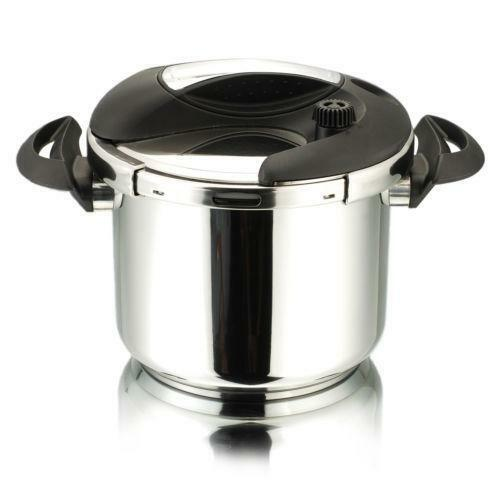 used stainless steel pressure cooker ebay. Black Bedroom Furniture Sets. Home Design Ideas