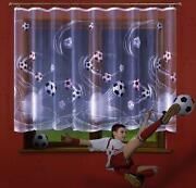Fussball Gardine