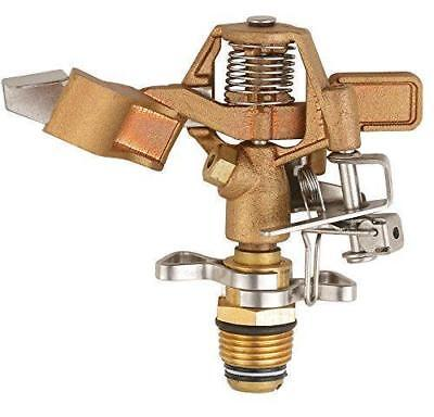 SOMMERLAND Heavy Duty Brass Impact Head Sprinkler 0 to 360 Degree Up to 5000 sq ()