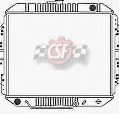 Radiator 2 Row All Metal CSF 2027 fits 88 91 Isuzu Trooper