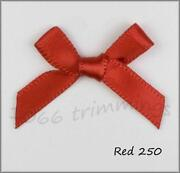 7mm Red Satin Ribbon