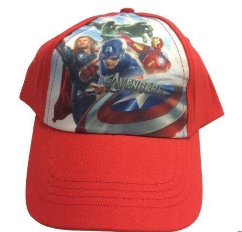 0205669d Official Marvel Avengers Red Unisex Children's Baseball Cap Hat. | in ...
