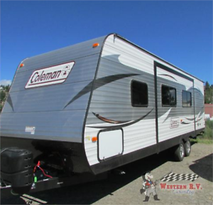 2017 COLEMAN 262 BHS ON SALE REDUCED ! WAS 24,990 NOW 23,990!