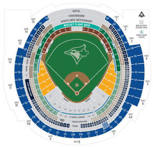 6 BLUE JAYS TICKETS ALL HOME GAMES