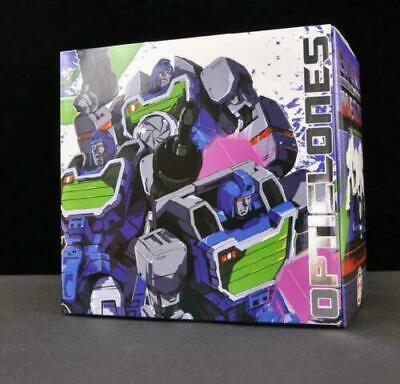 IN STOCK Transformers KFC Toys EAVI METAL P-5A Opticlones G1 camera MP set