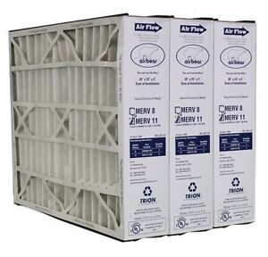 Trion Air Bear 259112-102 (3 Pack) Pleated Furnace Air Filter 20
