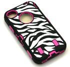 iPhone 4 Otter Box Pink Zebra