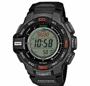 Casio ProTrek Triple Sensor Watch PRG-270-1ER Solar Resin Black  New & Tags  Box