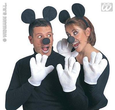 KOSTÜM SET MAUS ERWACHSENE zu Minnie Maus Hochzeit Karneval 5460 ()