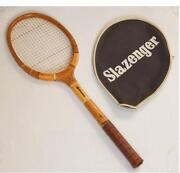 Wooden Tennis Racquet
