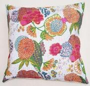White Cotton Cushion Cover