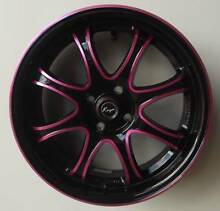 "17"" Black Pink Anodize Koya Galaxy Toowoomba 4350 Toowoomba City Preview"