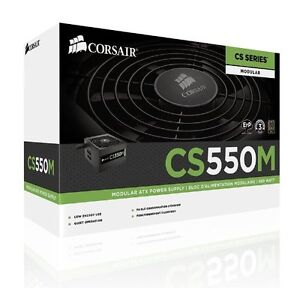 Corsair - CSM 550W 80+ Gold Certified Semi-Modular ATX Power Sup