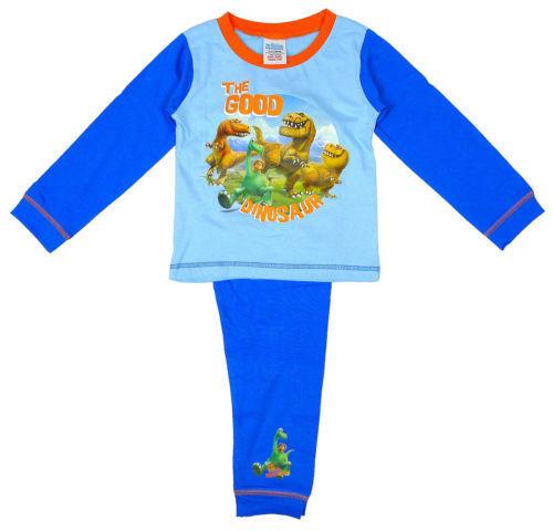 Boys Top Uk Store Blue Polar Bear Print Long Cotton Pyjamas PJ Set Age M S Gift