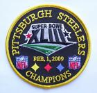 Embroidered NFL Patches