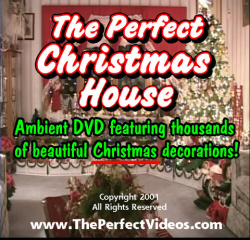 Christmas Video Family Fun Decoration DVD Villages Ornaments Trees Lights Santa