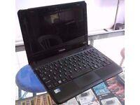 "Toshiba NB510 10.1"" Netbook Intel Atom N2600 1.6ghz 320 HDD 2GB Win 7 RRP £350"