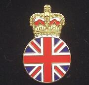 Union Jack Lapel Badge
