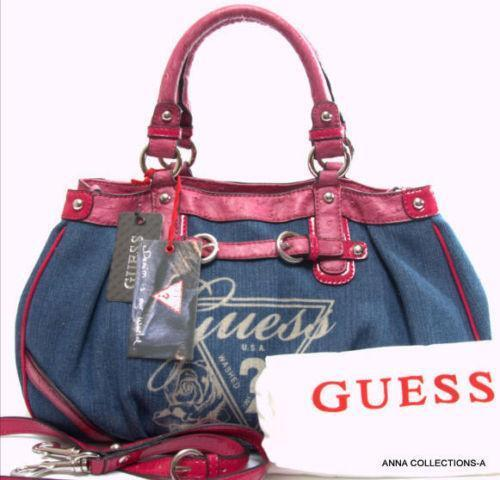 Guess Denim Handbag Ebay