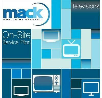 Mack 5 Year Warranty Certificate for TVs Priced up to $6,999 (1408)