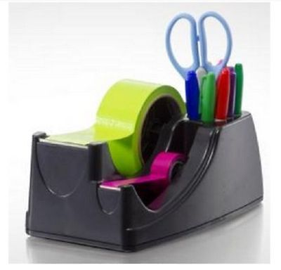 Dual 2-in-1 Heavy Duty Weighted Tape Dispenser Holderrecycled Double 2 34
