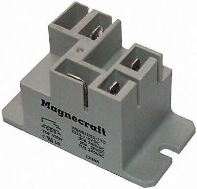 Schneider Electric 9as5a52-120 Enclosed Power Relay5 Pin120vacspdt