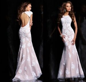 Sexy Backless Formal Evening Party Prom Ball Gown Cocktail Dress Custom Made