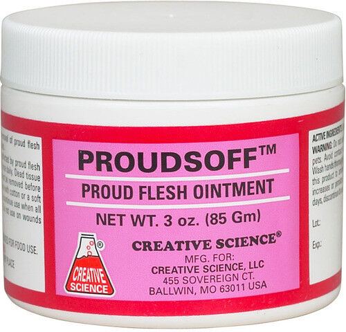 Proudsoff Proud Flesh Ointment 3oz.