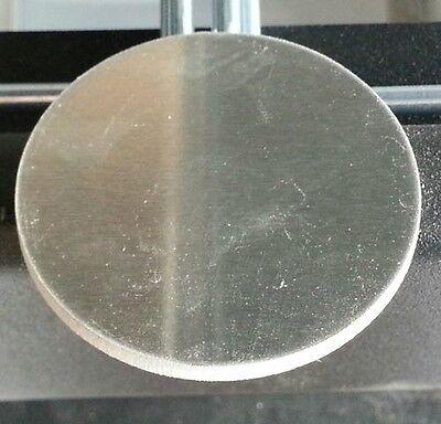 34 Dia. Aluminum Round Disc .125 18 Thick Lot Of 10