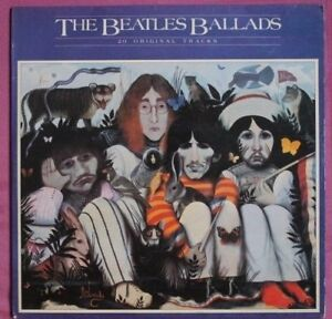 THE BEATLES   Ballads LP  Made in India Excellent Condition