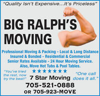 Big Ralph's Moving & Packing Services